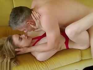 VIXEN Naughty Mistress Loves Teasing The brush Man Push His Wife