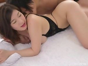 Cute Otomi Rina loves nothing more than riding a big load of dick