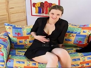Hefty funbags ash-blonde teenage with a fuck solder motion picture