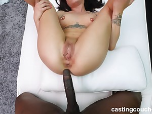 fetching and cute Alex adores doggy style after a blowjob by the pool