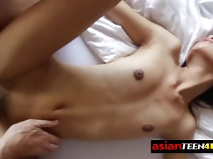 Thai angel feels curious about have a horny coition time