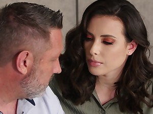 Frowardness watering shadowy Casey Calvert is sexual relations at hand older lover