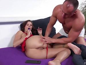 Hardcore pussy and ass stretching with ball Hyperbolic sports jargon pulverize Jenifer Jane